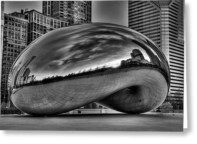 Jeff Lewis Greeting Cards - The Bean Greeting Card by Jeff Lewis