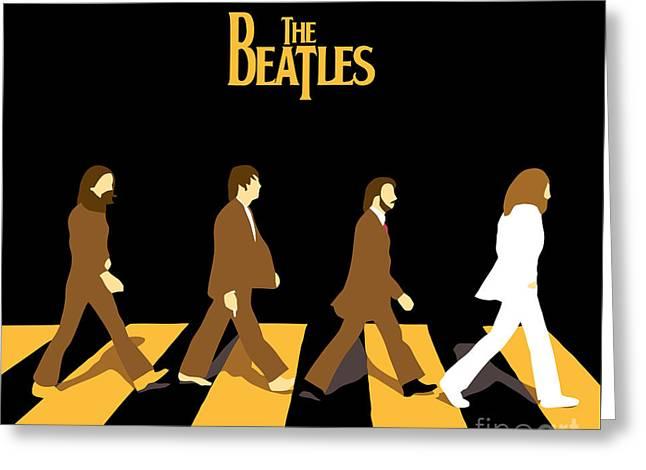 The Beatles No.19 Greeting Card by Caio Caldas