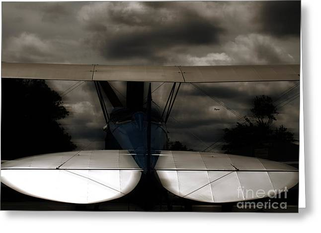 Trainer Aircraft Greeting Cards - The Beauty of Flight  Greeting Card by Steven  Digman