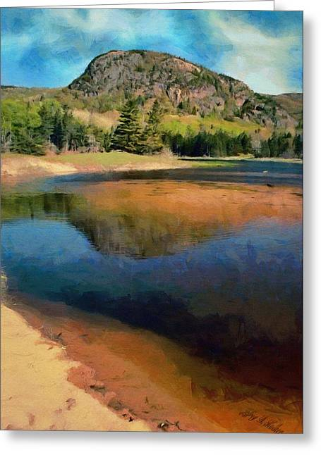 Maine Shore Greeting Cards - The Beehive Greeting Card by Jeff Kolker