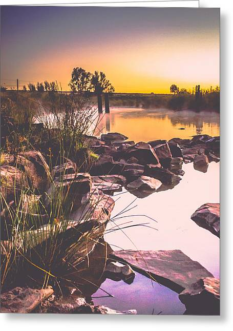 Photo Art Gallery Greeting Cards - The beginning Greeting Card by George Fivaz
