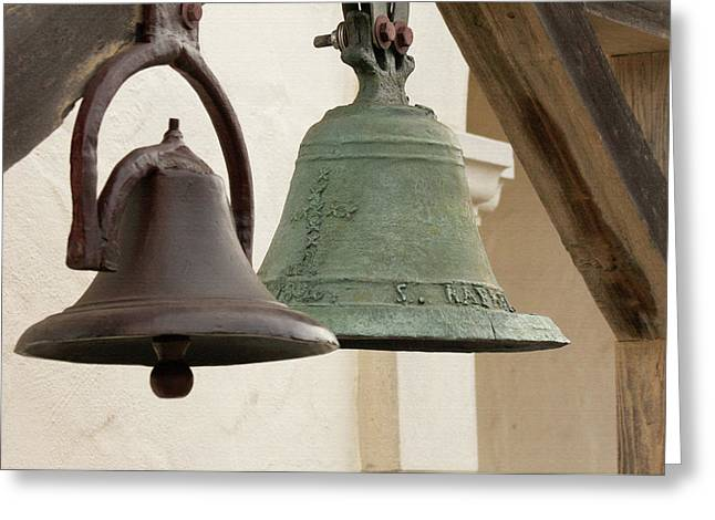 The Bells Of Mission San Rafael Greeting Card by Art Block Collections