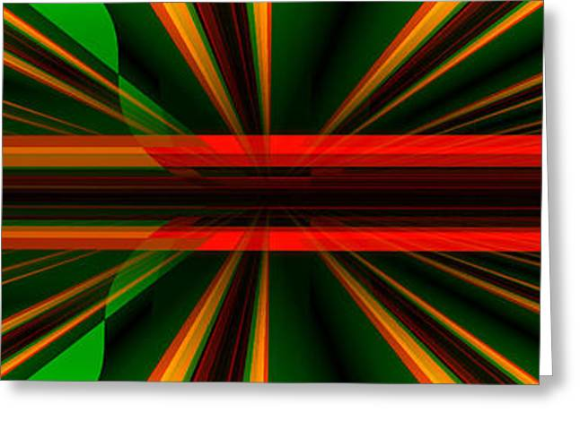 Abstract Digital Photographs Greeting Cards - The Bend where is no Bend Greeting Card by Andy Klamar
