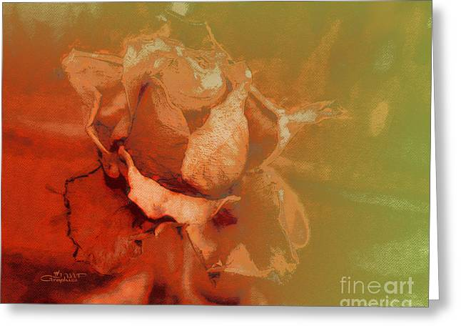 Best Flower Images Greeting Cards - The Best Days Are Over Greeting Card by Jutta Maria Pusl