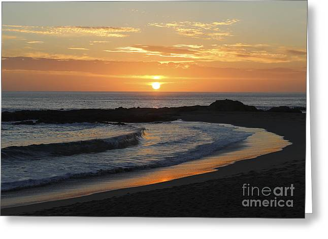 Surf Silhouette Greeting Cards - The Best Ending Greeting Card by Jennifer Ramirez