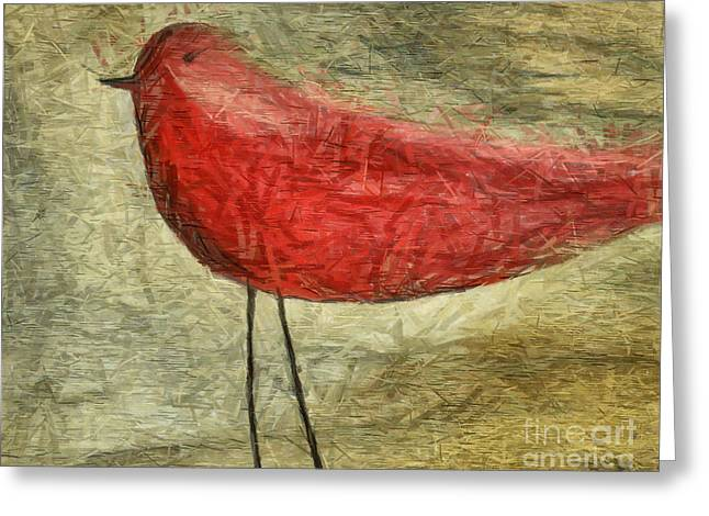 Collection Greeting Cards - The Bird - ft06 Greeting Card by Variance Collections