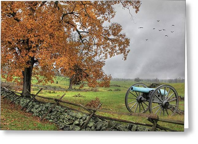 Civil War .tree Greeting Cards - The Birth of Freedom Greeting Card by Lori Deiter