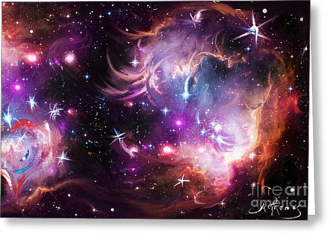 The Birth Of Humanity Greeting Card by Alex Thomas