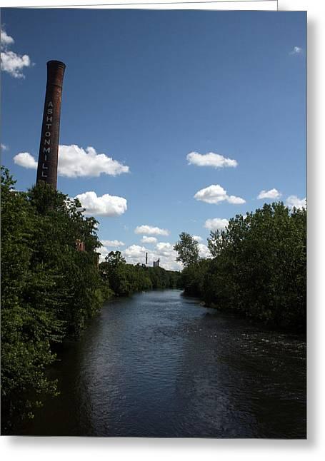 Blackstone River Greeting Cards - The Blackstone River I Greeting Card by Jeff Porter