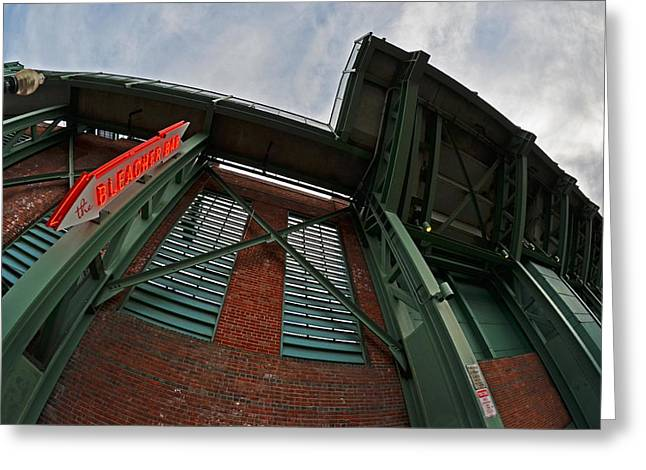 Fenway Park Digital Greeting Cards - The Bleacher bar at Fenway Park in Boston Greeting Card by Toby McGuire