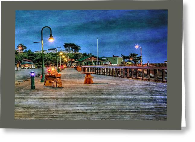 Seascapes Greeting Cards - The Boardwalk At Bandon Greeting Card by Thom Zehrfeld