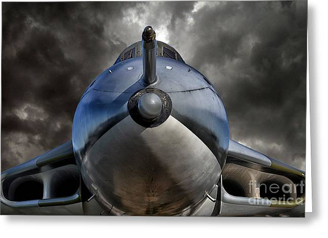 The Bomber Greeting Card by Stephen Smith