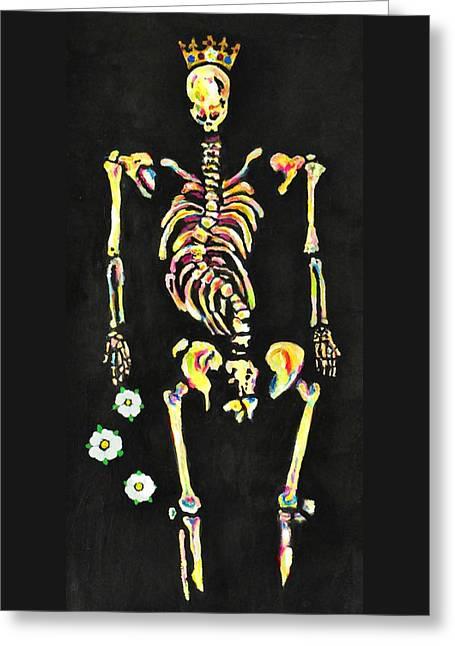The Bones Of Richard IIi Greeting Card by Jill Jacobs