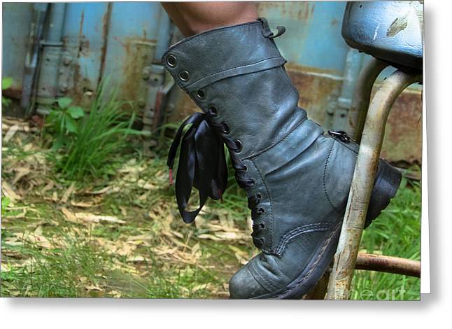 The Boot  Greeting Card by Steven  Digman