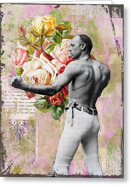 The Boxer Greeting Card by Catherine Jones