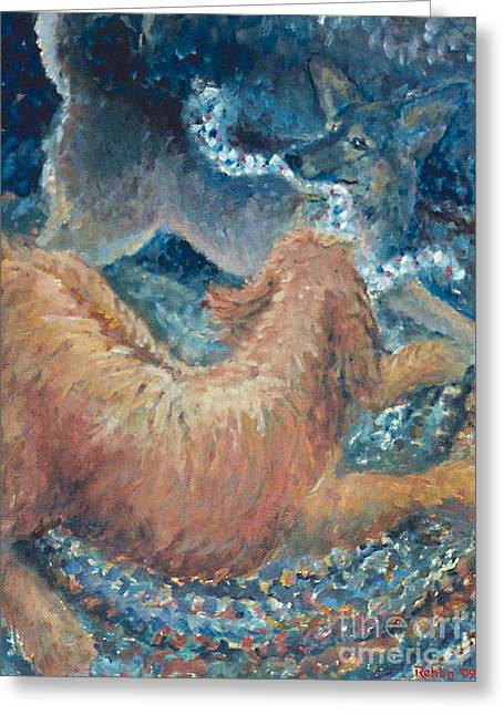 Braided Rugs Greeting Cards - The Braided Rug Greeting Card by Jim Rehlin