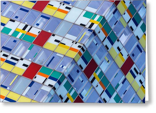 Colorful Greeting Cards - The Break Greeting Card by Harry Lieber