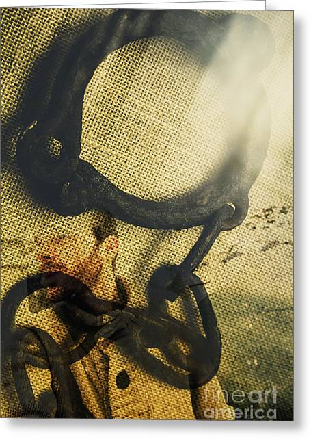The Breakaway Greeting Card by Jorgo Photography - Wall Art Gallery