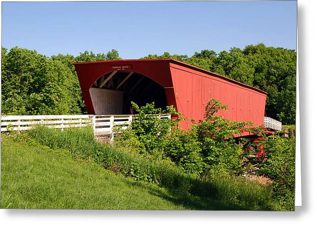 Famouse Greeting Cards - The Bridges of Madison County Greeting Card by Susanne Van Hulst