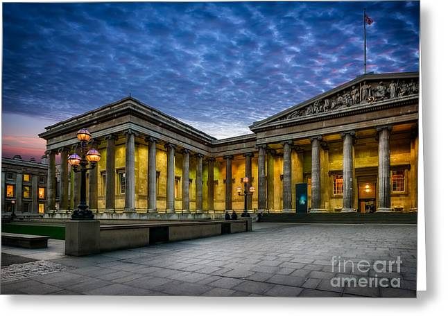 The British Museum Greeting Card by Adrian Evans