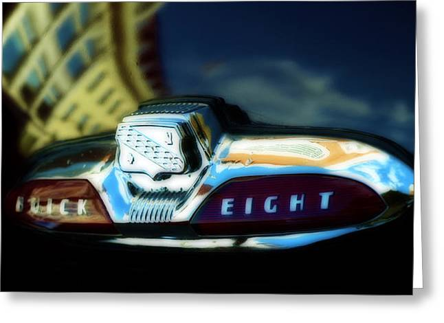 The Buick Eight  Greeting Card by Steven  Digman