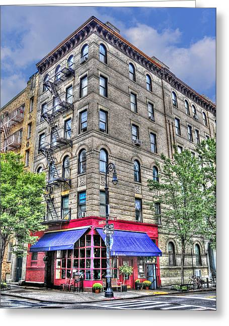 Tv Set Greeting Cards - The Building Used for the TV Show Friends Greeting Card by Randy Aveille