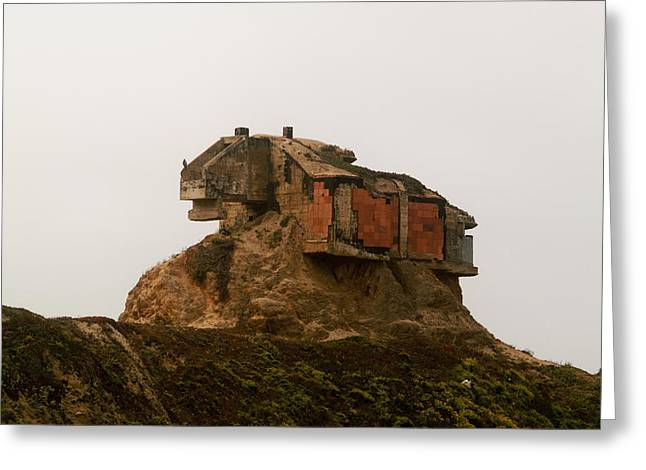 Coast Highway One Greeting Cards - The Bunker Greeting Card by Michael Risenhoover