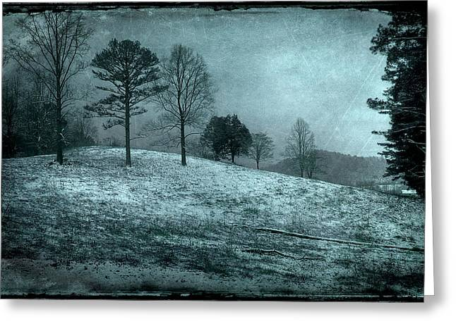 The Calm After Greeting Card by Mike Eingle