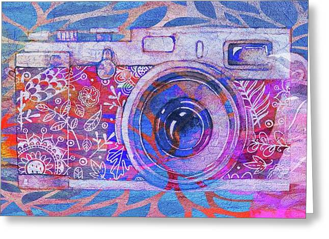 The Camera - 02c3t Greeting Card by Variance Collections