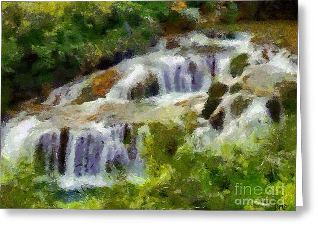 Willow Lake Greeting Cards - The Cascades of Plitvice Greeting Card by Dragica  Micki Fortuna
