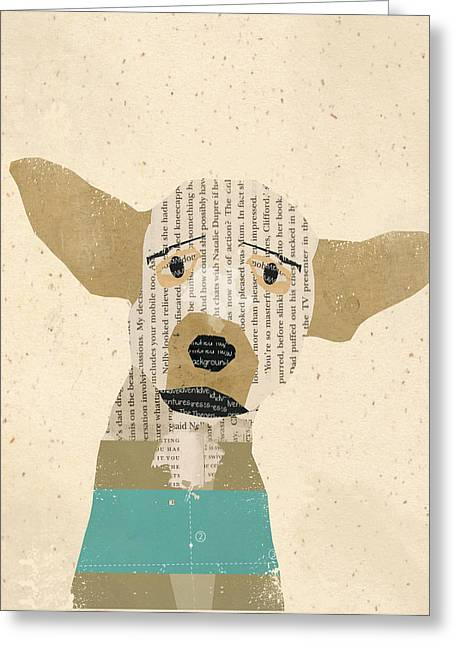 Chihuahua Art Print Greeting Cards - The Chihuahua Greeting Card by Bri Buckley
