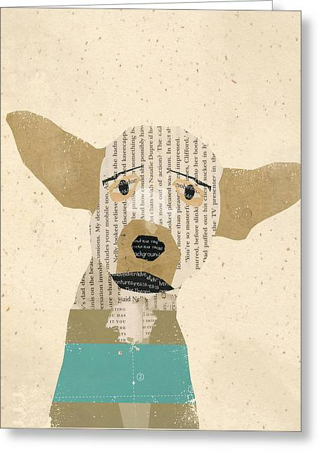 Chihuahua Portraits Greeting Cards - The Chihuahua Greeting Card by Bri Buckley