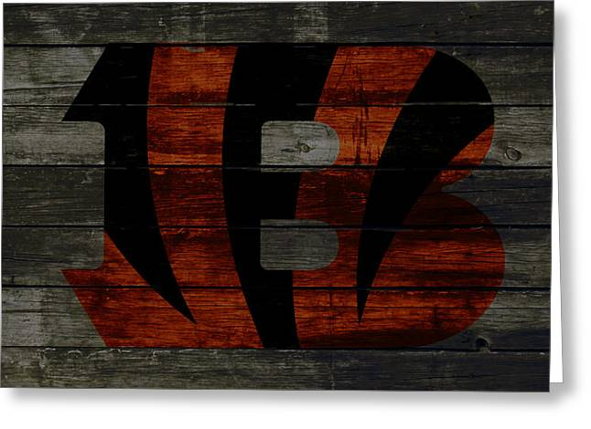 The Cincinnati Bengals 2w Greeting Card by Brian Reaves