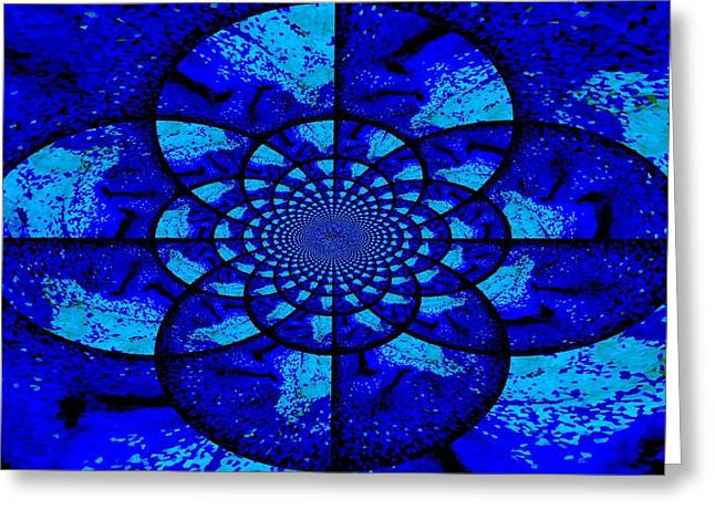 Life Change Greeting Cards - The Circles Of Life Greeting Card by Kathy Bucari