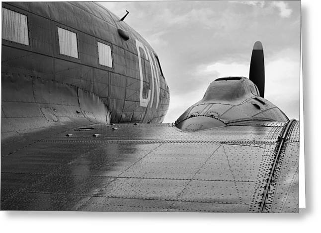 Dc3 Greeting Cards - The Classic DC3 Greeting Card by JC Findley