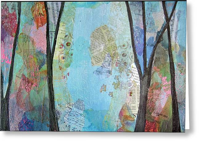 The Clearing II Greeting Card by Shadia