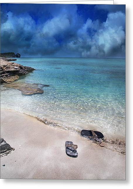 Carribean Greeting Cards - The Cloud Parade Greeting Card by Betsy C  Knapp