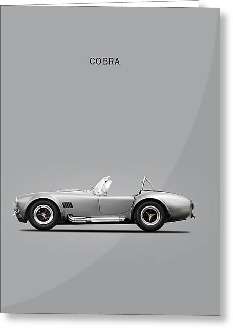 Cobra Photographs Greeting Cards - The Cobra Greeting Card by Mark Rogan
