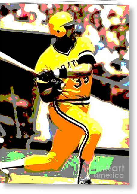 """""""pittsburgh Pirates"""" Digital Greeting Cards - The Cobra Greeting Card by Spencer McKain"""