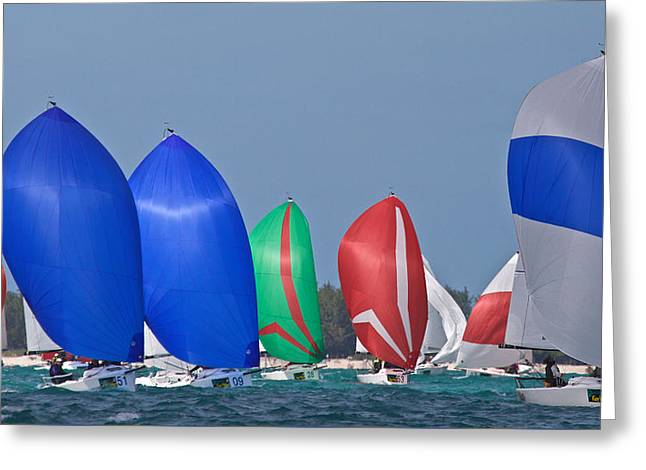 Destiny Photographs Greeting Cards - The Colors of Key West Greeting Card by Steven Lapkin