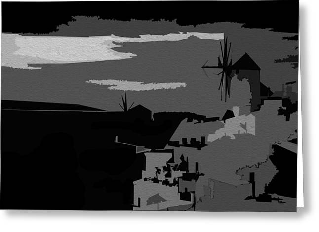 New Greeting Cards - The Colors Of Night Greeting Card by Sheela Ajith