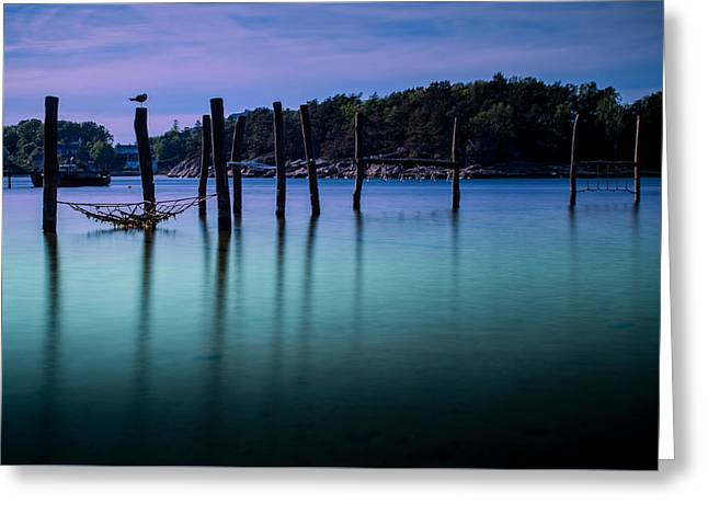 Mandal Greeting Cards - The colors of the evening Greeting Card by Mirra Photography