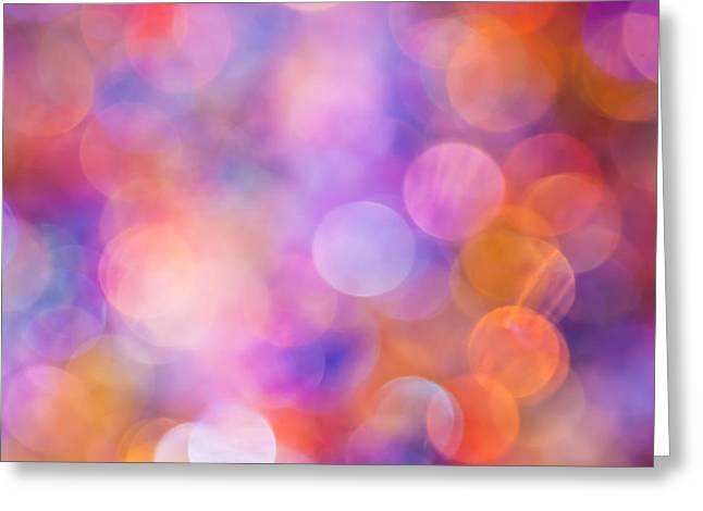 Color Colorful Greeting Cards - The Colour of Happiness Greeting Card by Jan Bickerton
