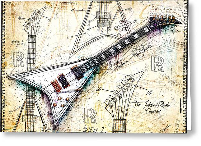 The Concorde Greeting Card by Gary Bodnar