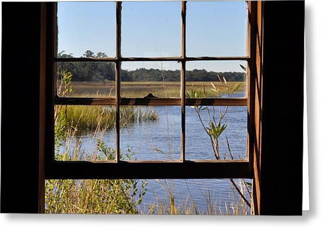 The Cotton Dock Greeting Card by Melissa Wyatt