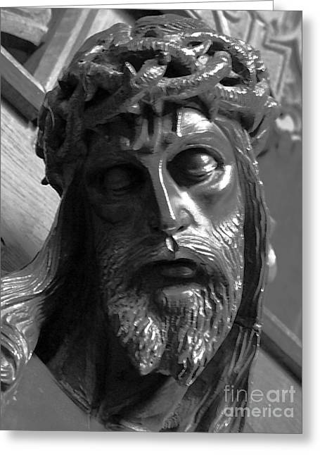 Pontius Pilate Greeting Cards - The Crown of Thorns Greeting Card by Gordon Palmer