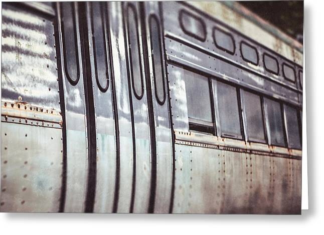 The Cta Train Greeting Card by Lisa Russo