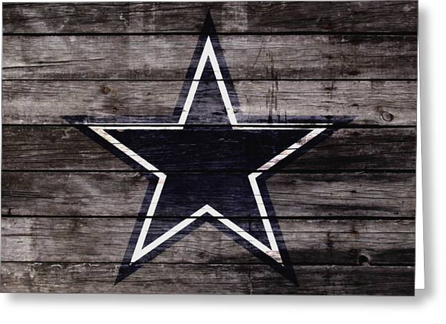 The Dallas Cowboys 4w Greeting Card by Brian Reaves