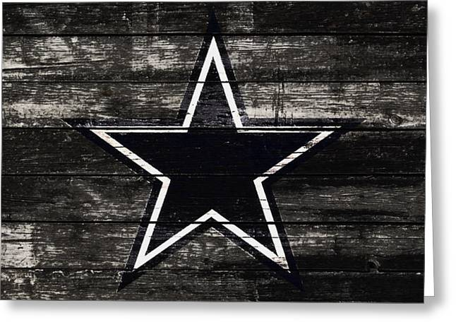 The Dallas Cowboys 5w Greeting Card by Brian Reaves