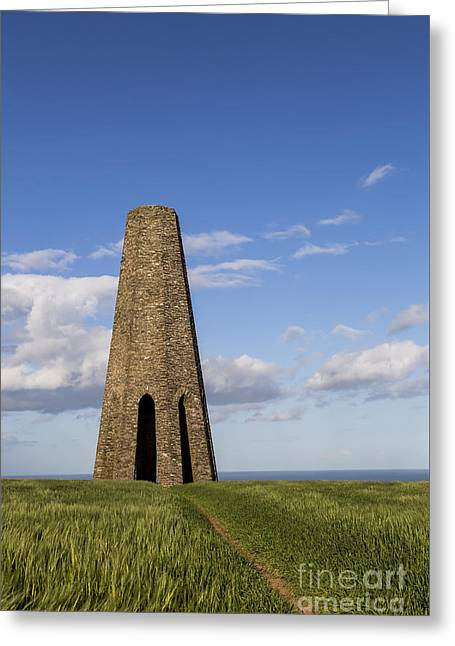 Tall Ships Greeting Cards - The daymark Greeting Card by Sebastien Coell